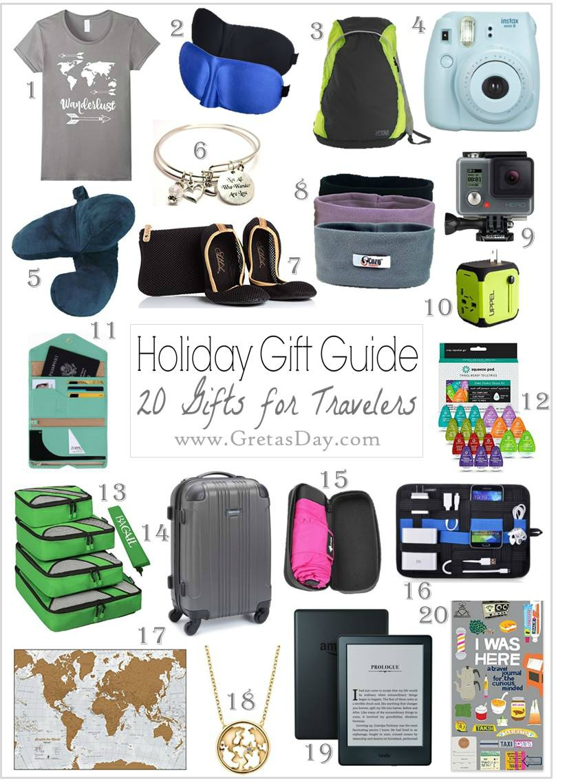 20 Amazing Gift Ideas For The Travel Buff From Amazon