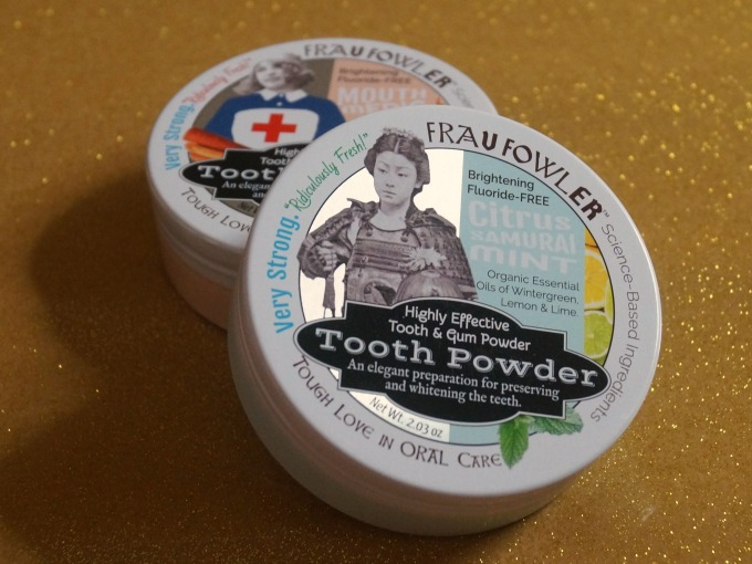 Frau Fowler Tooth Powder helps to remineralize your teeth