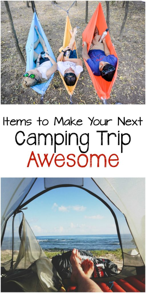 Even in the great outdoors, you still want to be comfortable. Check out this list of great gift ideas that will make your next camping trip awesome