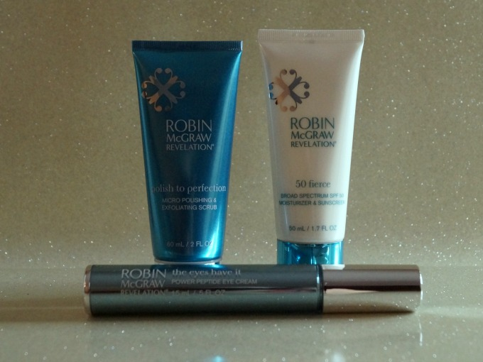 Robin McGraw Revelation Skincare products