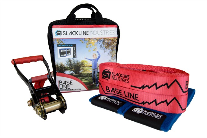 Learn how to slackline with this beginners kit