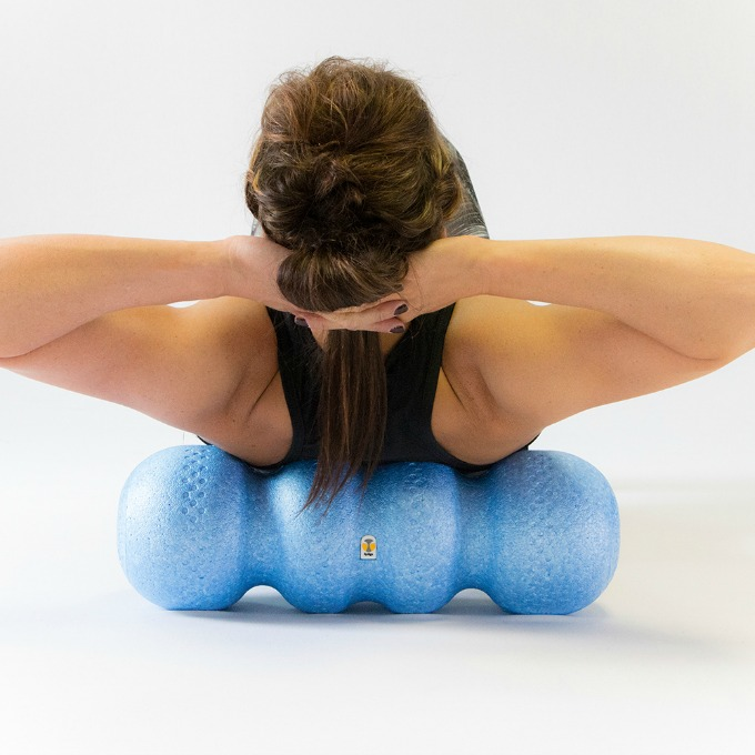 Rollga foam roller for workouts