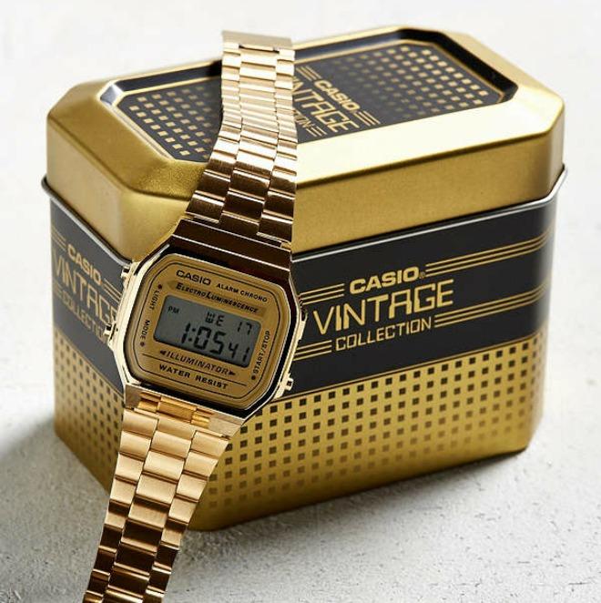 casio vintage and retro watches