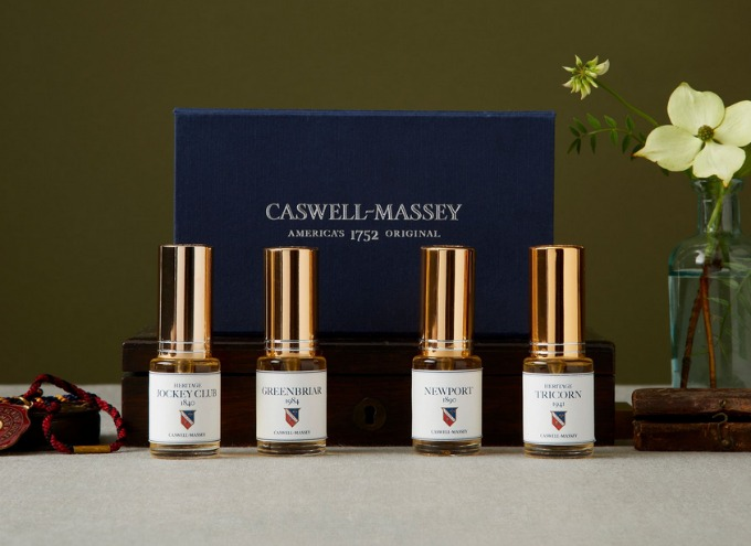 Caswell Massey Heritage Cologne Sampler