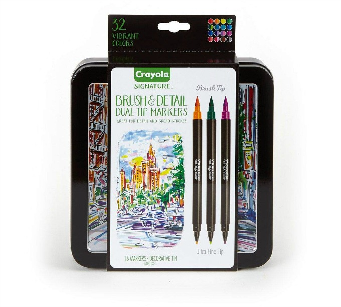 Crayola Signature Brush Tip Markers