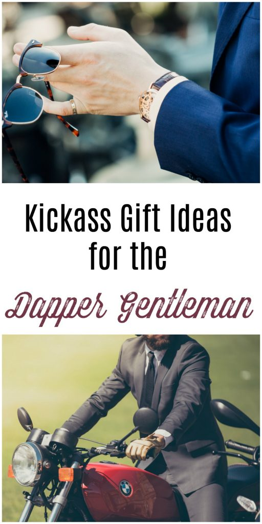 Dapper gentlemen are a particular breed. They like the finer things, and looking good. These gift ideas for the dapper gentleman is full of luxurious and high end items for the discerning man.