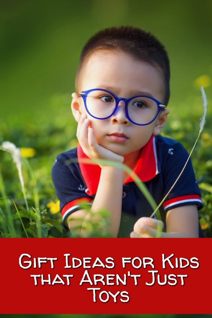 Great gift ideas for kids that aren't just toys. There are some toys, but also several STEM or STEAM gifts that are really fun.