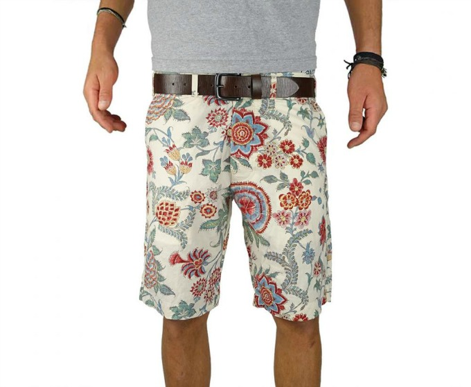 Old Bull Lee printed shorts for men