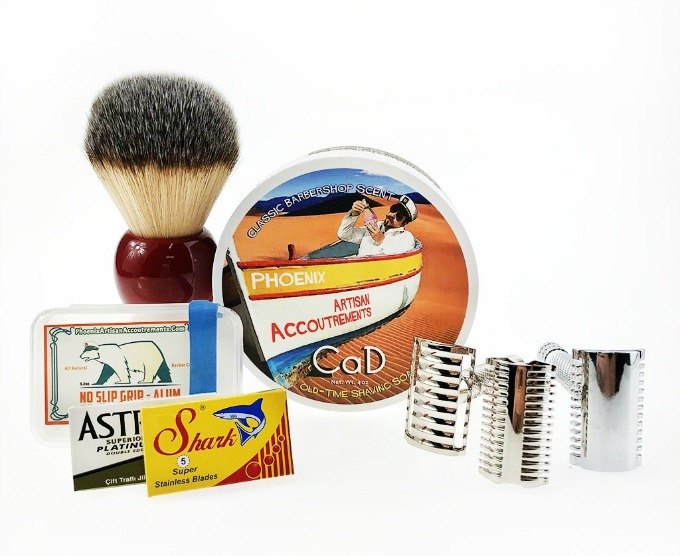 Phoenix Shaving vintage and retro shaving products