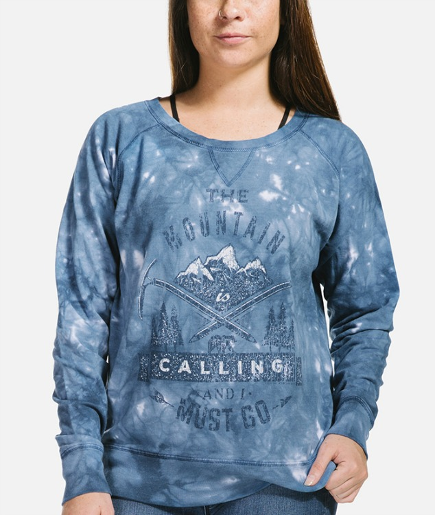 The Mountain is Calling Slouchy Sweatshirt