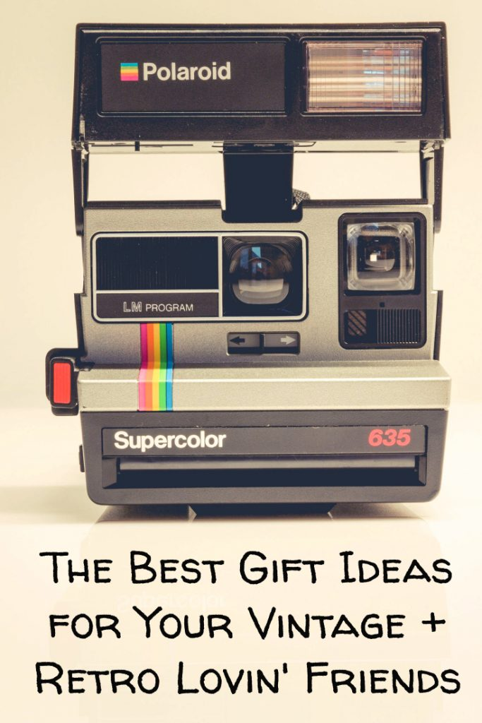 We all have a vintage or retro lover in our life. Check out these great gift ideas for those people to get them omething that's totally groovy, baby. Covers Mid Century Modern through the 1980s