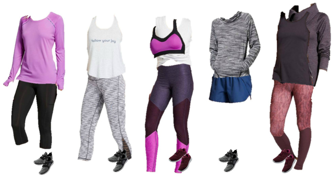 Target Mix and Match workout wear for 2017