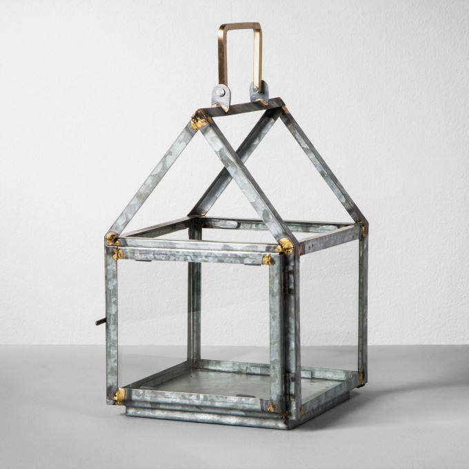 Galvanized House Lantern by Magnolia at Target
