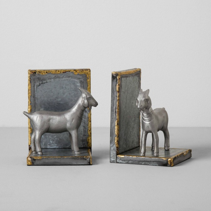 Goat Bookends from Magnolia by Hearth and Hand