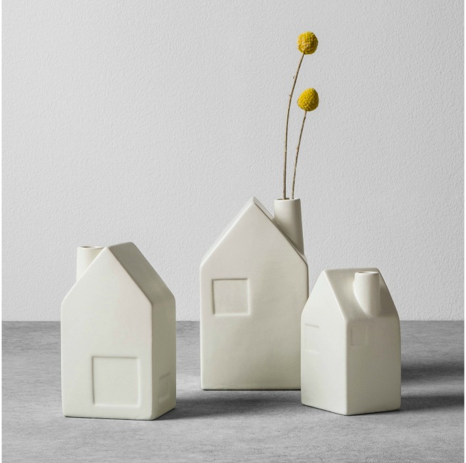House bud vases by Magnolia x Hearth and Hand at Target