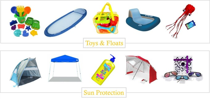 Great beach essentials that are available from Amazon