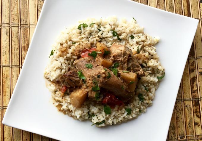 Quick and Easy Cilantro Lime Rice recipe.