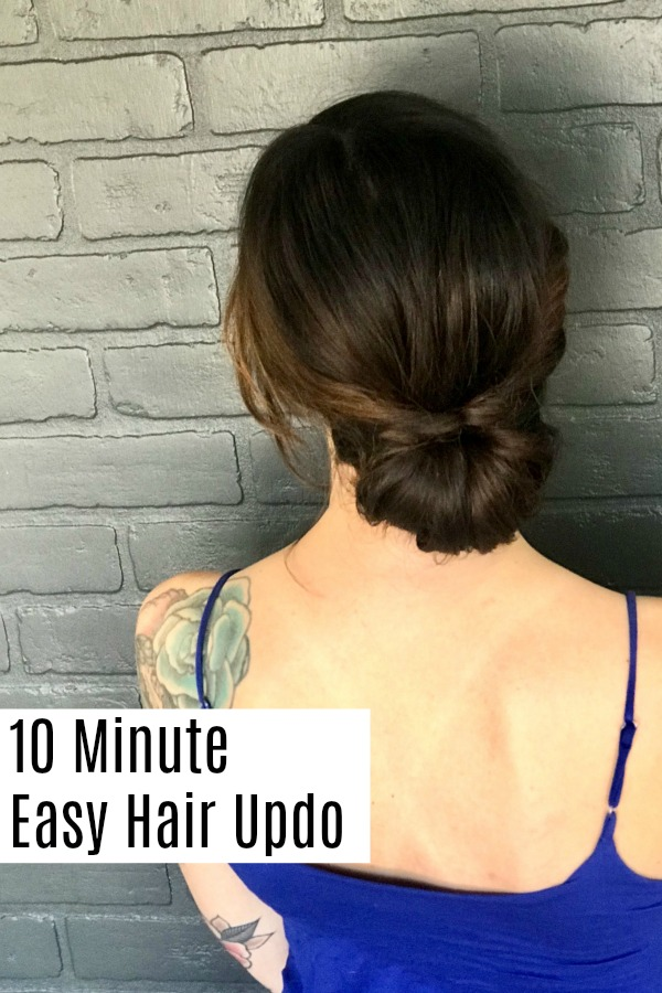 Learn how to create this easy and elegant hair updo. The simple tutorial is easy to follow, and looks great for a wedding, gala, or even a fancy date night.
