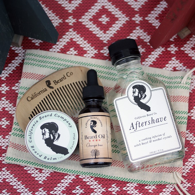 California Beard Company products
