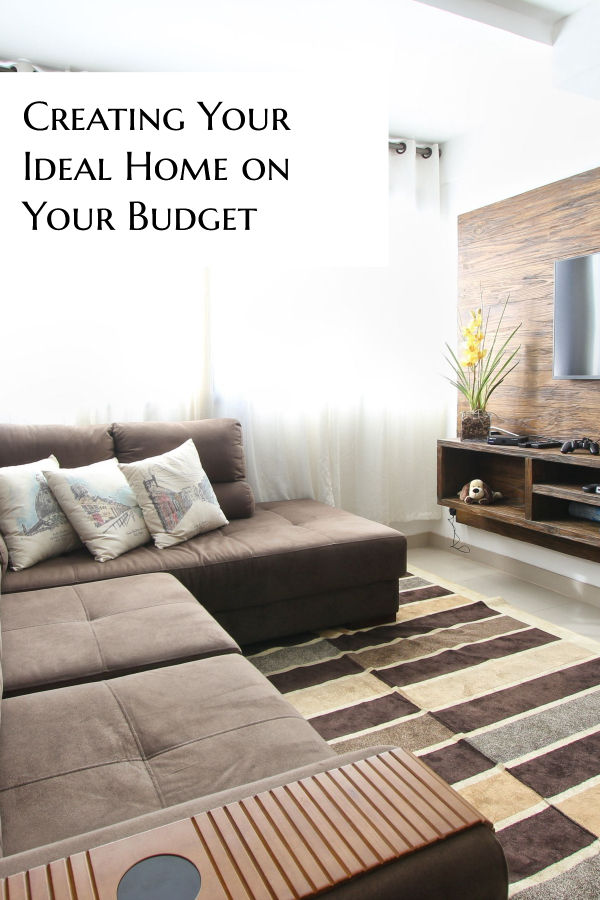 How to create your ideal home on your budget. Tips and tricks to save money on home improvement and decor.