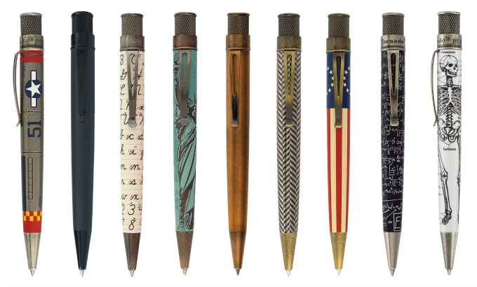 Retro 51 unique pens and writing accessories