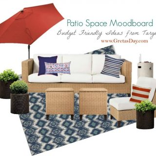 This Retro Mod Target Patio Layout Will Get You Ready for Summer
