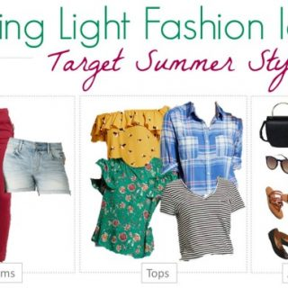 Bring everything you need for a week with this Mix and Match Travel Wardrobe from Target