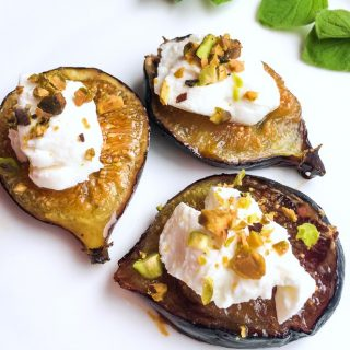 How to make honey roasted figs with Labneh cheese
