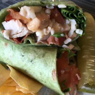 Delicious Chicken Bacon Ranch Wrap Sandwich that's Quick and Easy