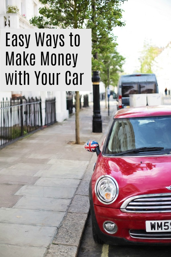 Easy ways to make some extra income using your car. | Side hustle | Extra Cash Stream | Bonus revenue