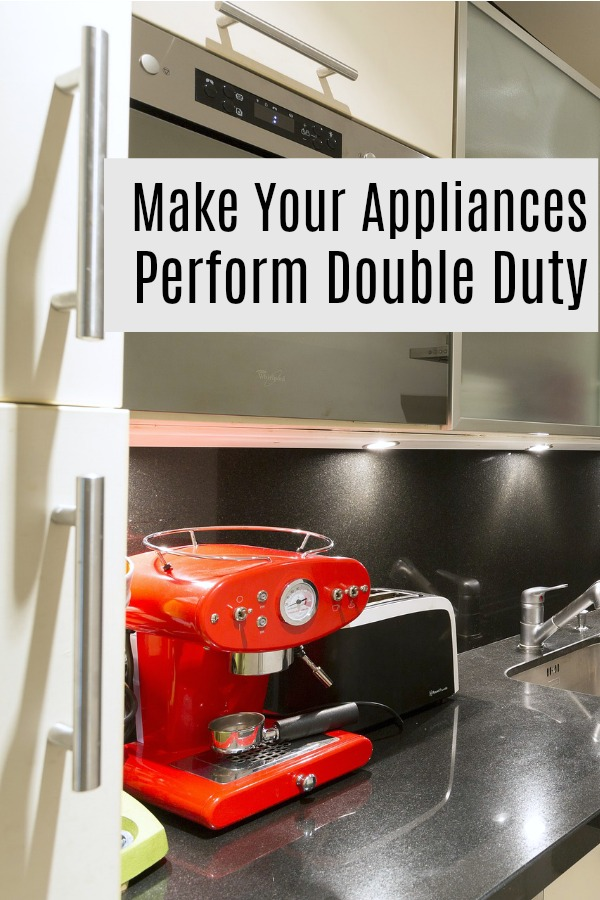 How to make your small kitchen appliances more useful by getting double duty from them