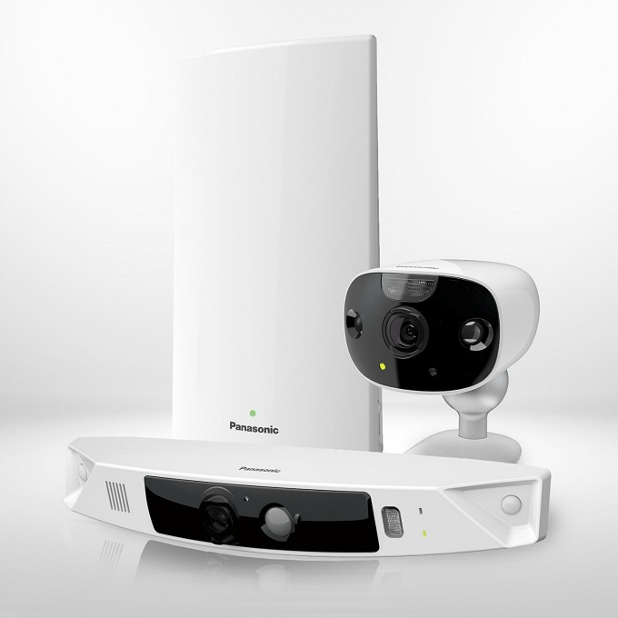 Panasonic HomeHawk Home monitoring system