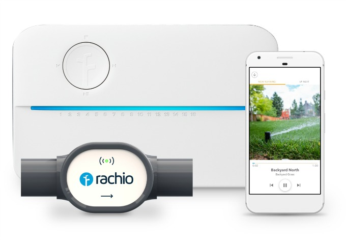 Rachio smart control sprinkler system