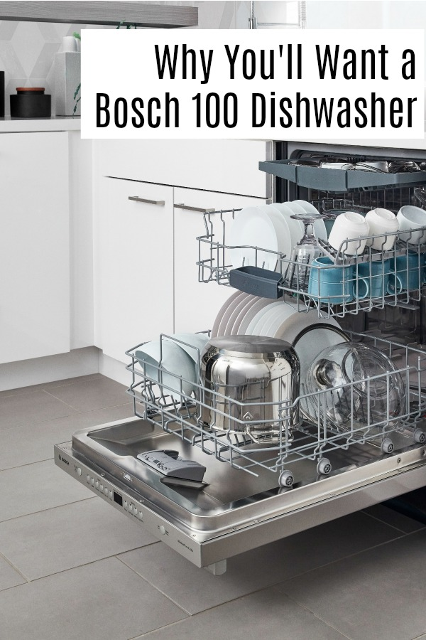 Reasons why you definitely want to consider a Bosch 100 series dishwasher in your kitchen