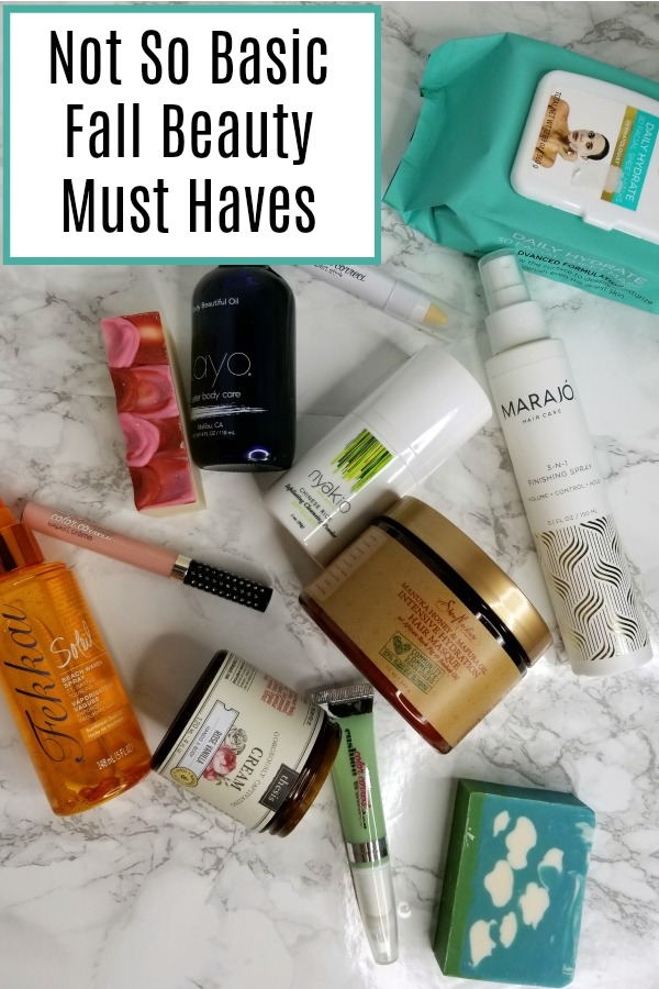 Our favorite beauty essentials that will transition from summer and straight into fall. Items for your hair, body, and face are all included