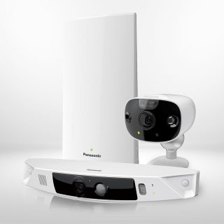 Homehawk by panasonic front door camera