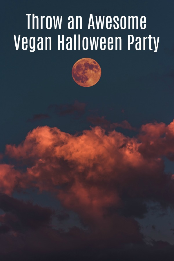 Tips and tricks to throw an awesome Vegan Halloween party. Food ideas, drinks, decorations, and more. This works for vegetarians too.