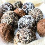 Healthy Chocolate Hazelnut truffles recipe with no refined sugar