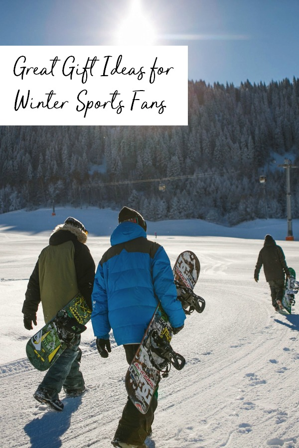 Great gift ideas for the winter sports fan | ski | snowboard | snow board | skiing | slopes | present ideas | presents | Christmas | holiday |