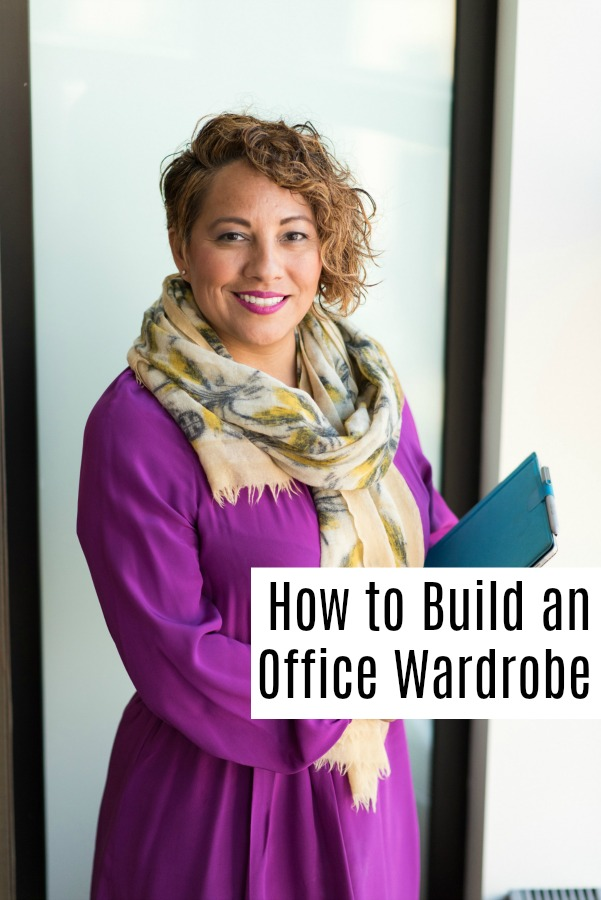 Entering or re-entering the workforce can be hard. Learn how to build an office appropriate wardrobe that you can change to fit your style