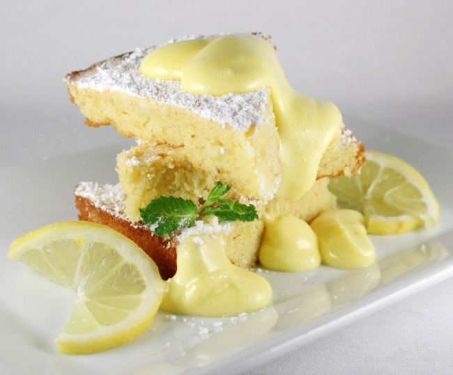 Gluten Free Lemon Almond Flourless Cake Recipe