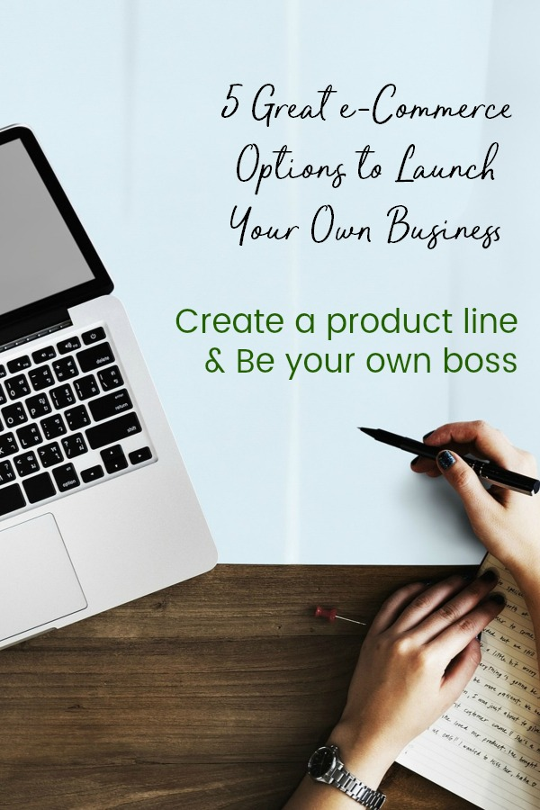 Have you always wanted to have your own business? Nw you can with your own product line and one of these great e-commerce options. | be your own boss | boss girl babe | work from home | entrepreneur | shopify | amazon | etsy }