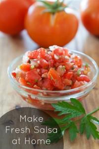 Delicious Garden Fresh Salsa Recipe