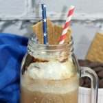 Copycat S'mores frappuccino drink from Starbucks