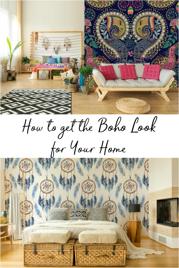 Easy ways to get the Boho chic look in your own home, and incorporating your favorite pieces.