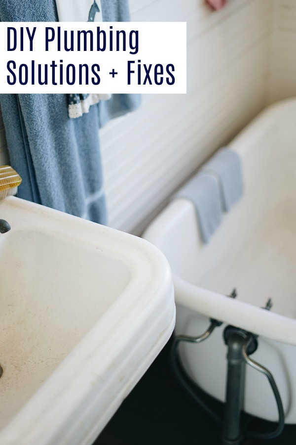 Great DIY plumbing solutions and fixes for your home issues | Know when you can fix it yourself and when to call a plumber