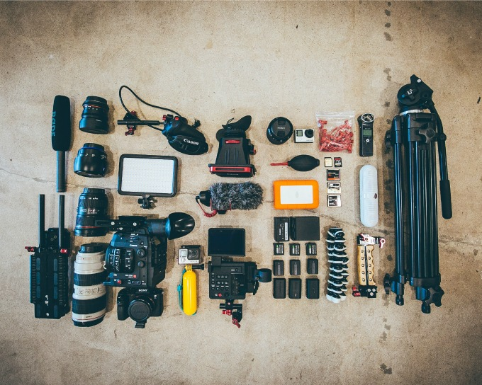 Must have photography and videoequipment for your travels