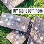 How to make giant yard dominoes
