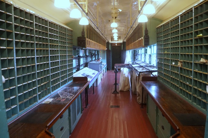 Historic Restored Mail train car