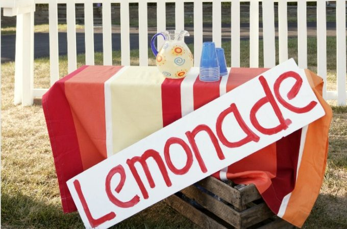 Everything you need for the best lemonade stand ever